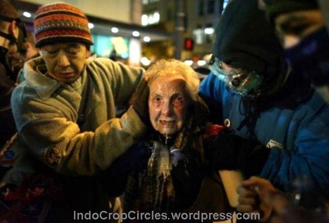 "Terjadi kekerasan biadab kepolisian AS terhadap demonstran ""Occupy"