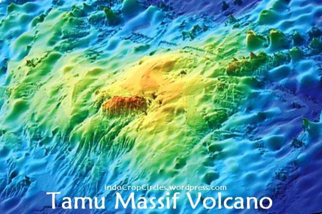 gunung-tamu massif google earth