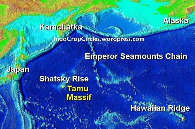 gunung tamu massif Shatsky Rise