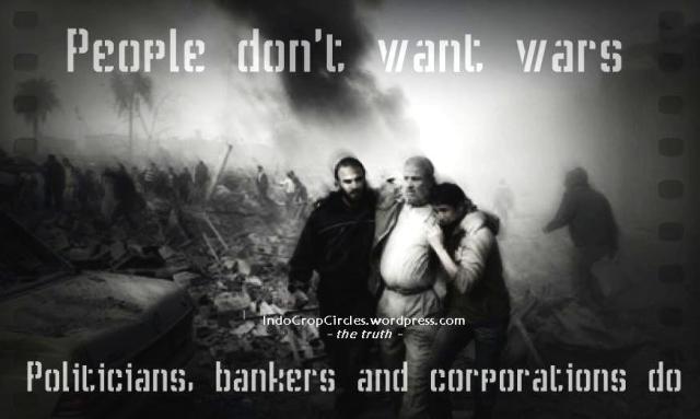 politicians want wars