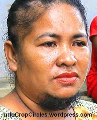 Agustina Dorman wanita indonesia berjenggot 03