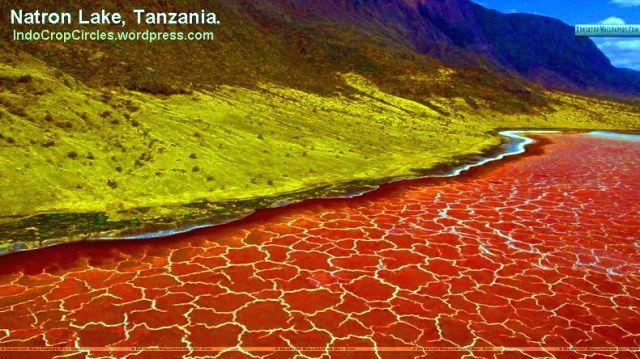 Danau Natron Lake Tanzania Header