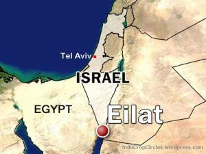 eilat_israel map