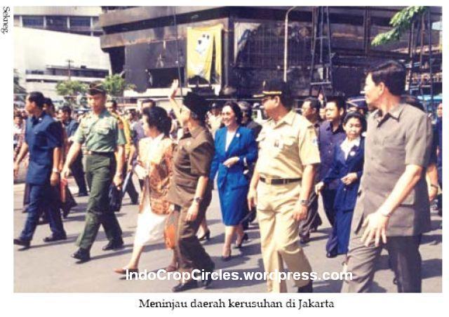 Habibie pasca kerusuhan 1998