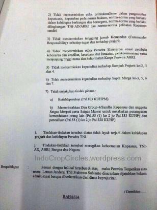 Hasil Dewan Kehormatan Perwira pecat prabowo 03