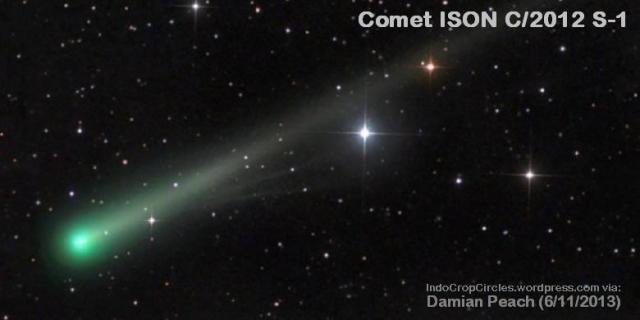 komet-ison Nov 2013-dua-ekor