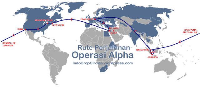 rute perjalanan operasi alpha