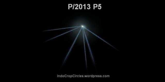 asteroid P2013 P5 tail 6 buntut