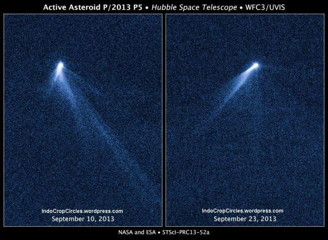 Asteroid P_2013-P5-Hubble1