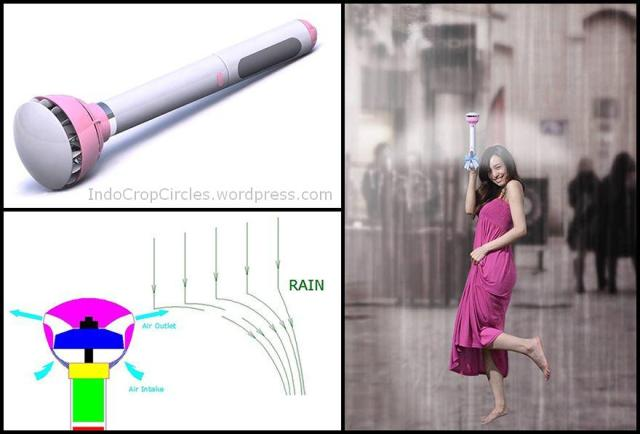 payung air umbrella