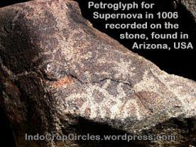 Petroglip supernova 1006