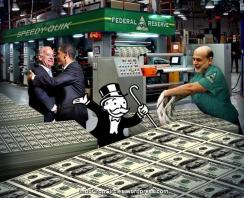 the fed makes money
