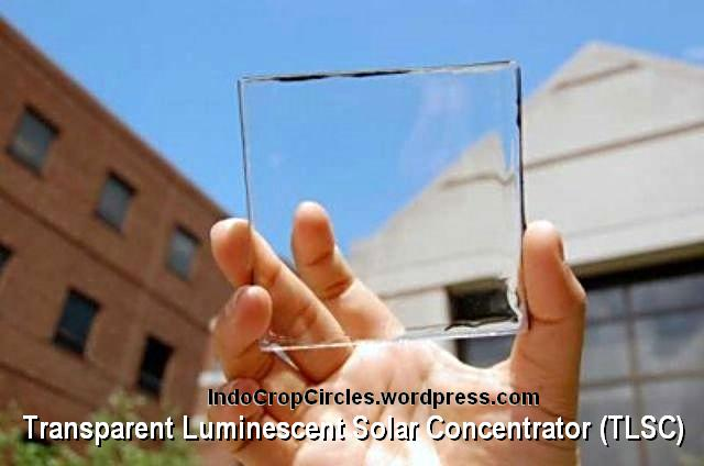 transparent-solar-cell panel surya transparan TLSC