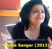 Yurike Sanger 2013