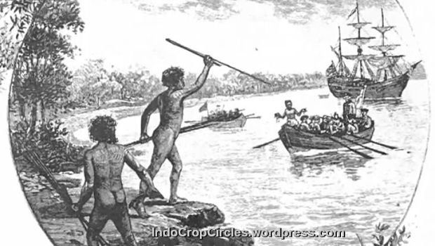 Suku aborigin sudah mengadakan kontak dan perdagangan dengan dunia