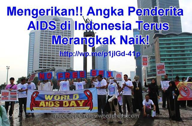 demo aids sedunia jakarta 1 Des 2013 banner