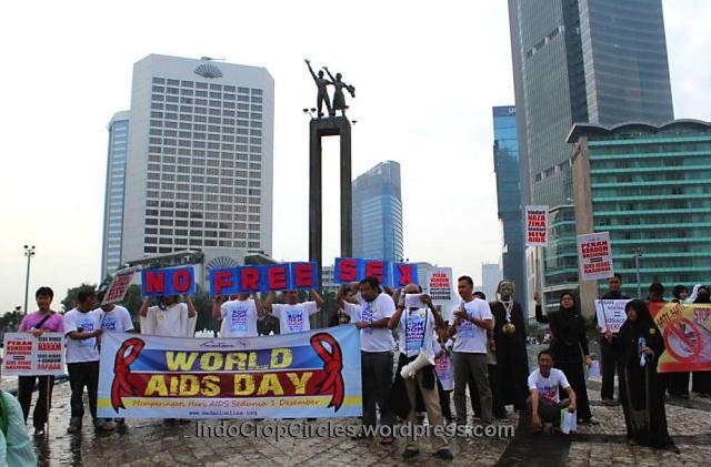 demo aids sedunia jakarta 1 Des 2013