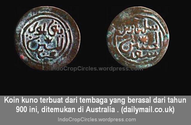 koin australia-ditemukan-enam-abad-sebelum-kapten-james-cook