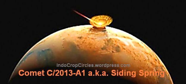 komet Siding_Spring C2013 A1 dan Mars
