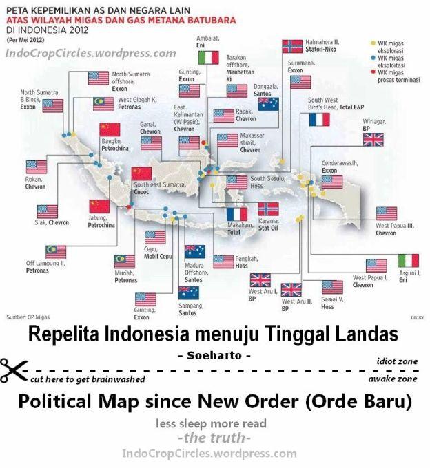 peta tambang indonesia