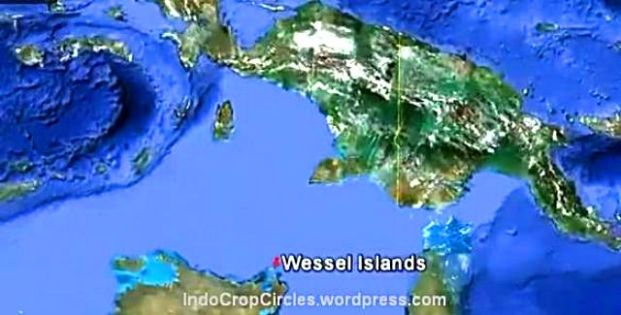 wessel island pulau wessel australia