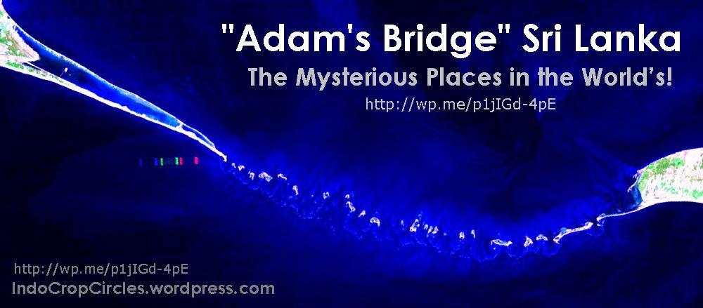 "Misteri ""Jembatan Adam"" Sri Lanka, Mysterious Place in the World ..."