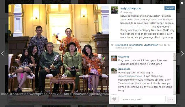 Ani Yudhoyono penampakan 1