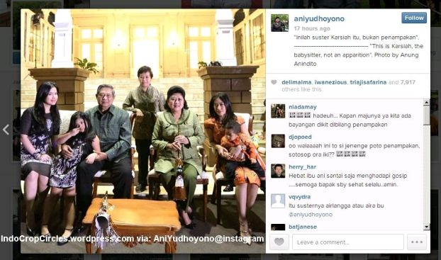 Ani Yudhoyono penampakan 2