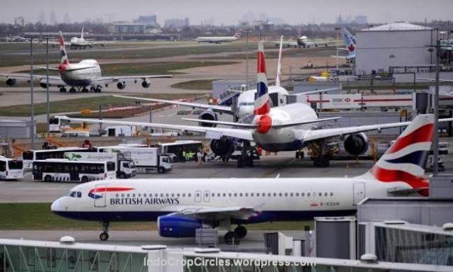 Bandara Heathrow Inggris