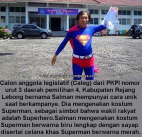 caleg-pkpi-kampanye-pakai-baju-superman
