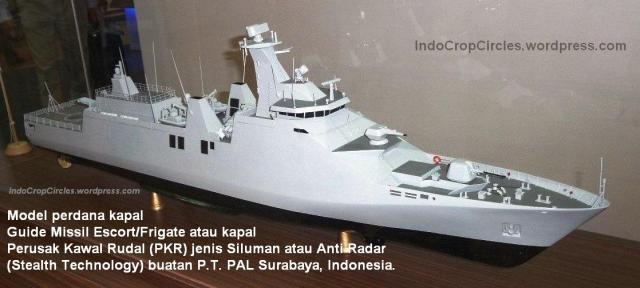 model kapal perang Sigma-10514 PAL Indonesia