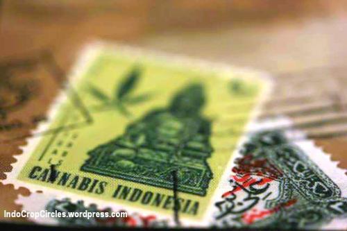 perangko ganja indonesia cannabis stamp 02