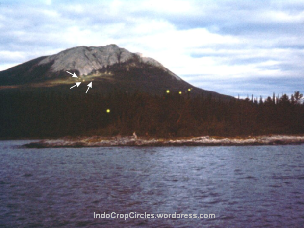 UFO light balls Yukon Kanada Earthquake
