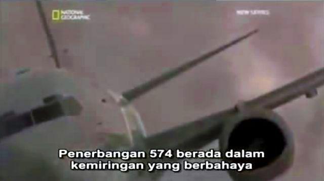 Adam Air 574 - 11 minutes Crash Scene