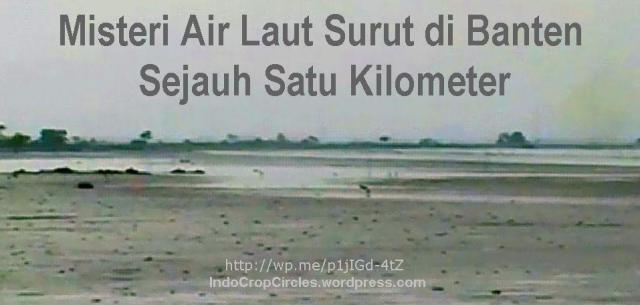 Air laut Serang Banten Surut 01
