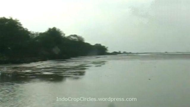 Air laut Serang Banten Surut 02