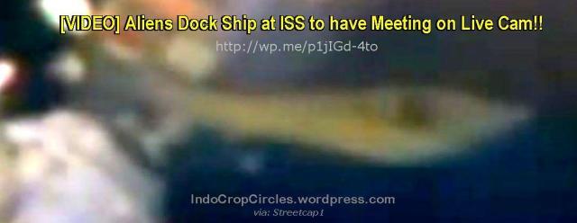 aliens UFO ship docking ISS header