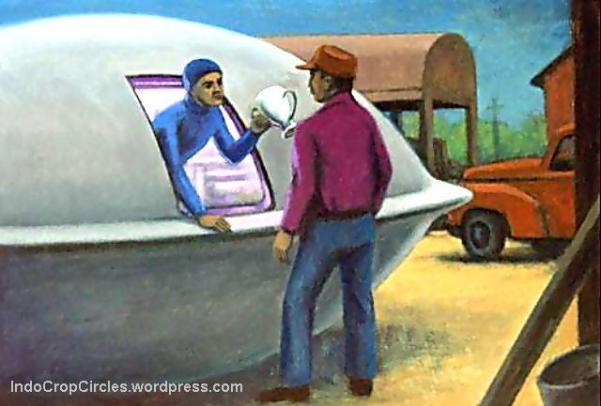 Joe Simonton - UFO Aliens - Eagle River 01