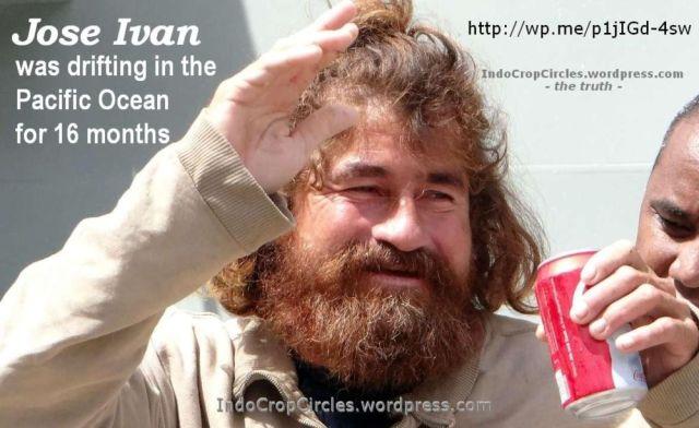 Jose Ivan castaway Pacific