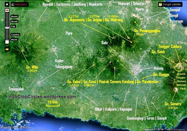 Kelud map