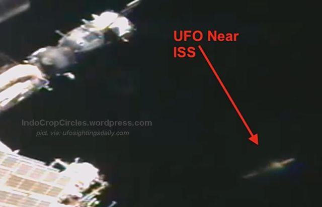 ufo near iss