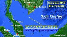 coordinate MAS MH370 crashed 01