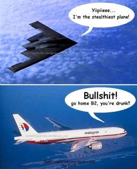 MAS MH370 - B2-Stealth-bomber