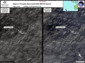 MAS MH370 - debris location Australia