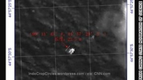 MH370 debris by China Satellite near India