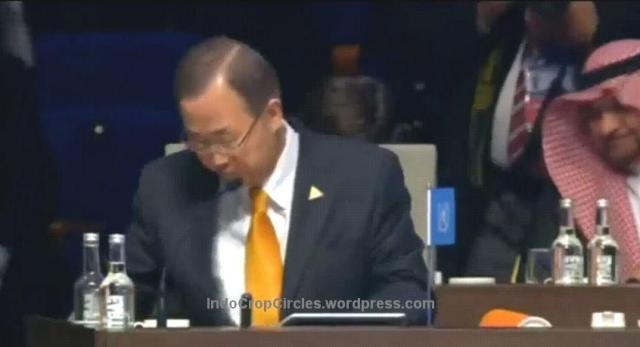Pin Piramid Illuminati on Nuclear  Security Summit 2014 Ban Ki Moon