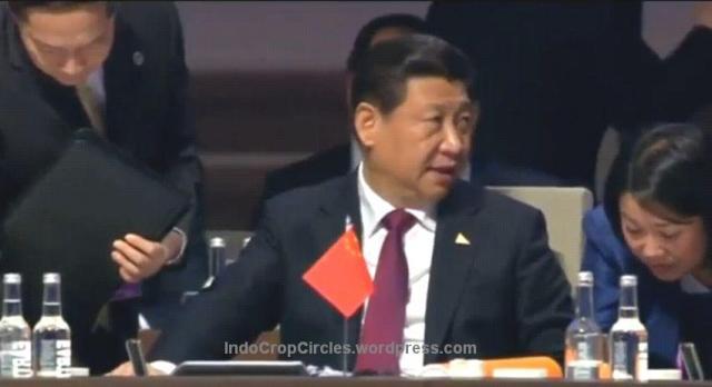 Pin Piramid Illuminati on Nuclear  Security Summit 2014 china Xi Jinping