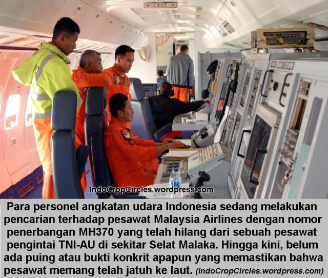 searching mh370 by tni-au indonesia