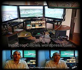 simulator dirumah Zaharie MH370