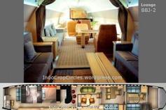 Interior Boeing Business Jet 2, jenis pesawat kepresidenan RI yang baru datang